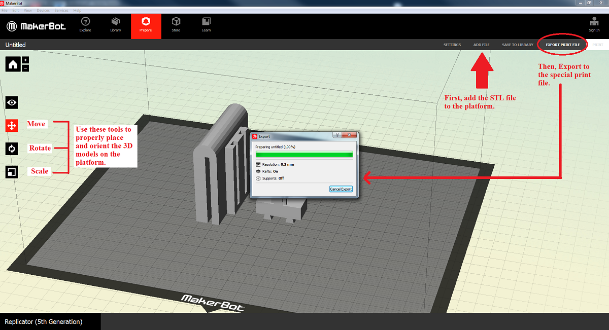 Creating kinect mount in sketchup and preparing for 3d for How to import stl into sketchup