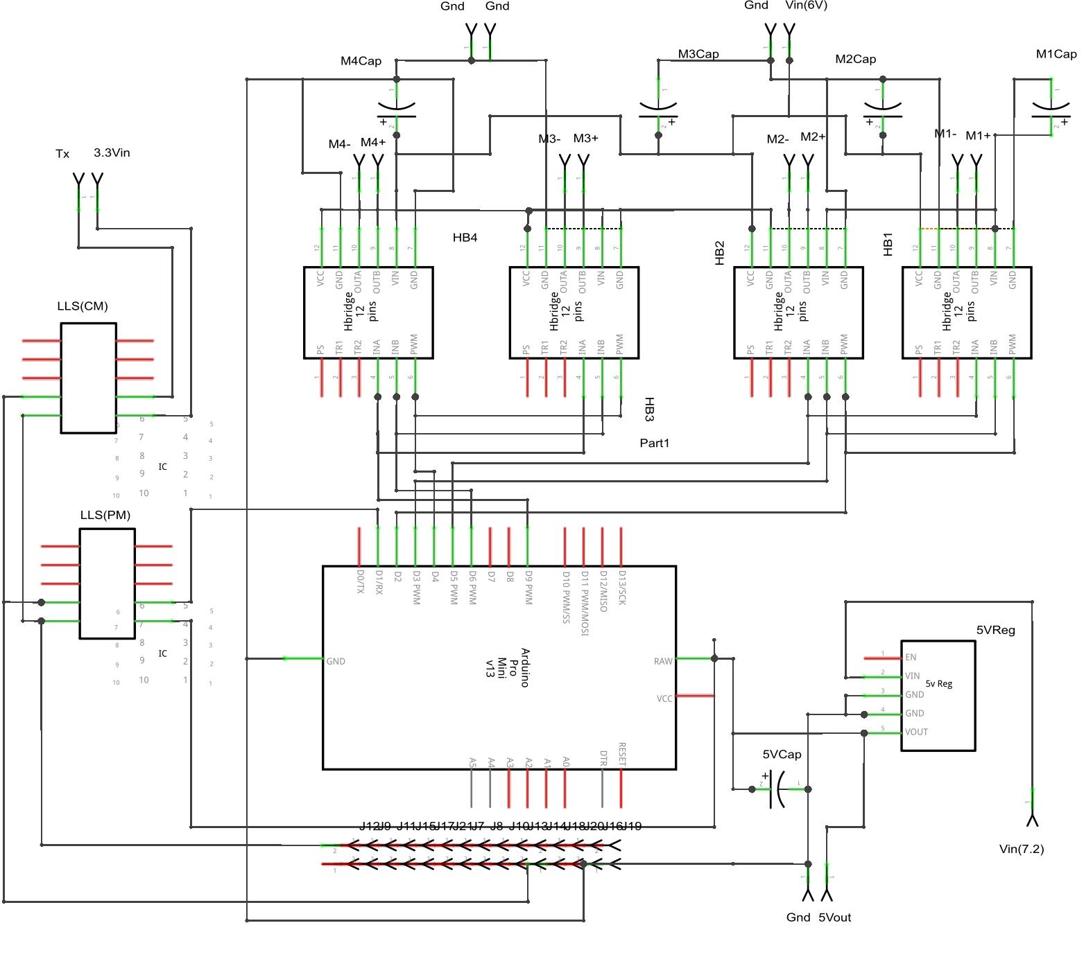 CRITR/pcb gen2 - Lofaro Lab Wiki